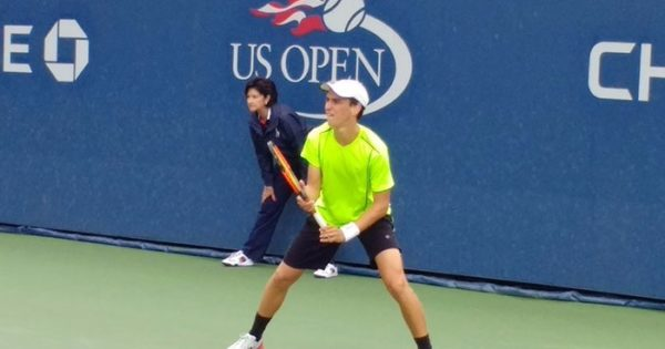 Grassi Mazzuchi, eliminado del US Open Junior