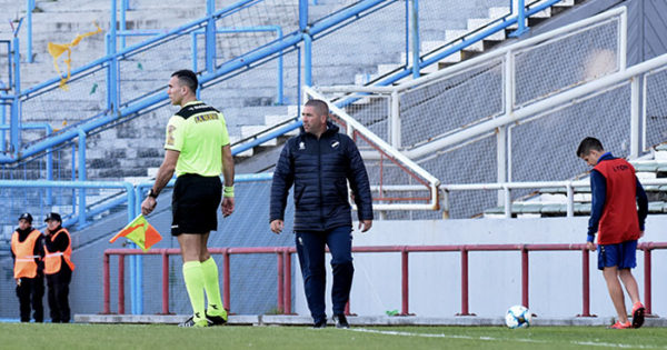 "Mauricio Giganti: ""Queremos un Alvarado intenso"""