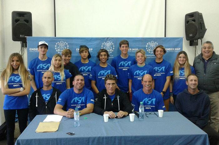 Surf: la Selección Argentina, rumbo al mundial ISA Junior