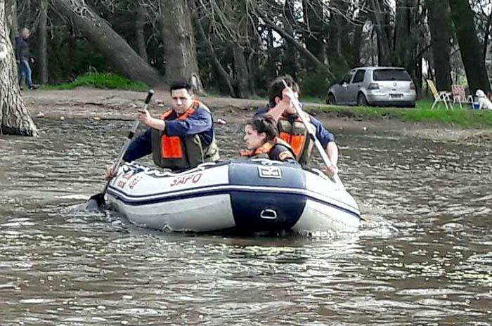 Laguna de los Padres: sigue la búsqueda del joven desaparecido
