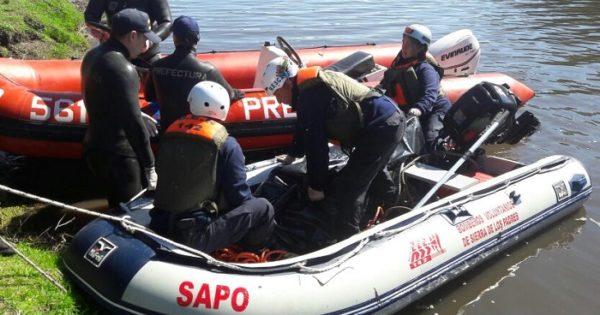 Laguna de los Padres: hallaron el cuerpo del joven desaparecido