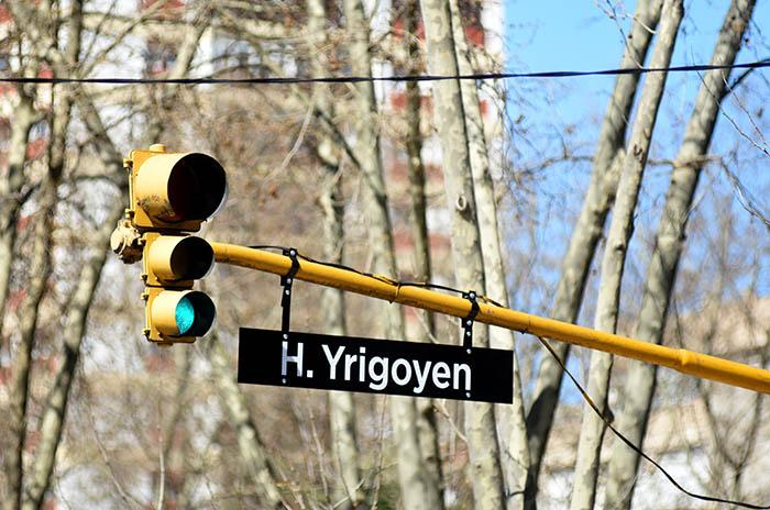 Prueba piloto de semáforos con los nombres de las calles