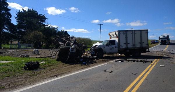 Ruta 88: 6 heridos en un choque entre dos camionetas y un auto