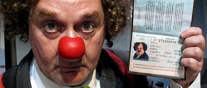 """El clown Chamé Buendía vuelve a la ciudad con """"Llegué para irme"""""""