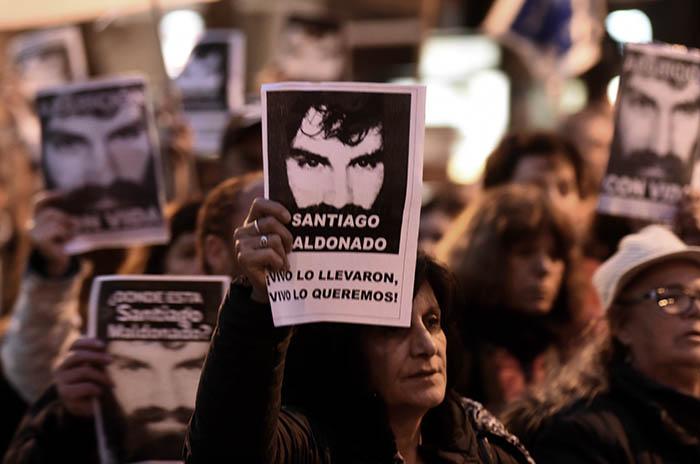 """Santiago Maldonado, otra marcha: """"El gobierno es responsable"""""""