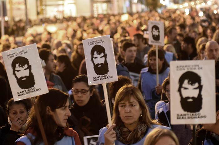 Este domingo, una nueva marcha por Santiago Maldonado