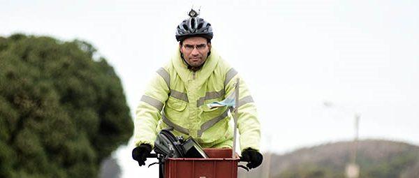 """Docente sobre ruedas: la bicicleta como """"filosofía de vida"""""""