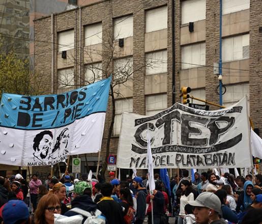 Jornada de protesta: marchas y reclamo, también en Mar del Plata