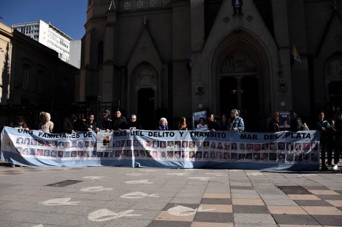 Víctimas del Delito volvieron a marchar para reclamar justicia