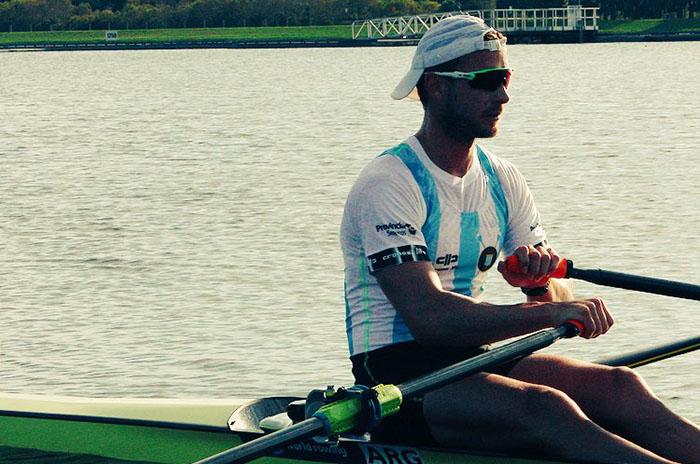 Remo: buen comienzo de Brian Rosso en el mundial