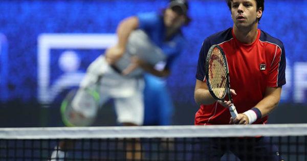 Horacio Zeballos llegó hasta semifinales en San Petersburgo
