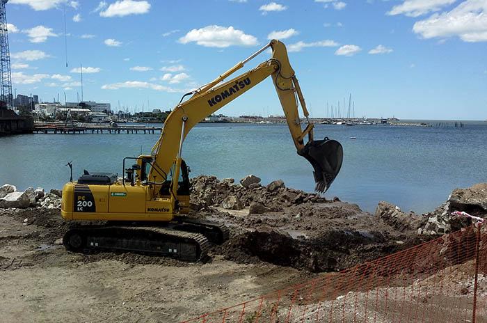 Arroyo del Barco: el progreso de las obras alcanza el 40%