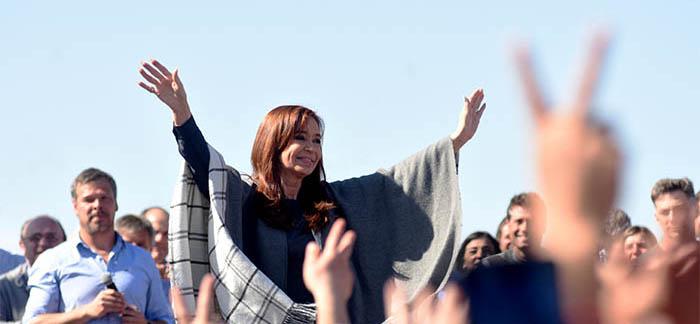 """Cristina: """"Mar del Plata es testigo muda de lo que está pasando"""""""