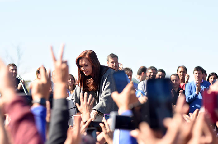 CRISTINA FERNANDEZ DE KIRCHNER EN MAR DEL PLATA ACTO CAMPAÑA ELECCIONES 2017 (22)