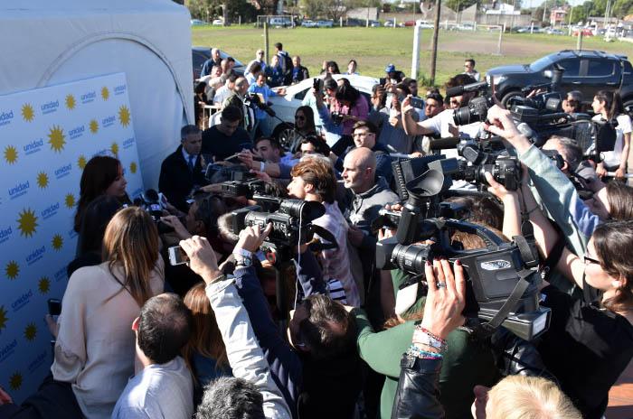 CRISTINA FERNANDEZ DE KIRCHNER EN MAR DEL PLATA ACTO CAMPAÑA ELECCIONES 2017 (26)