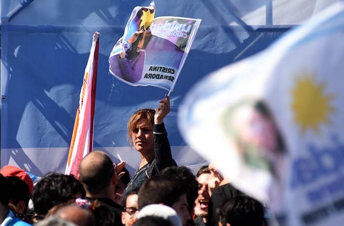 CRISTINA FERNANDEZ DE KIRCHNER EN MAR DEL PLATA ACTO CAMPAÑA ELECCIONES 2017 (5)