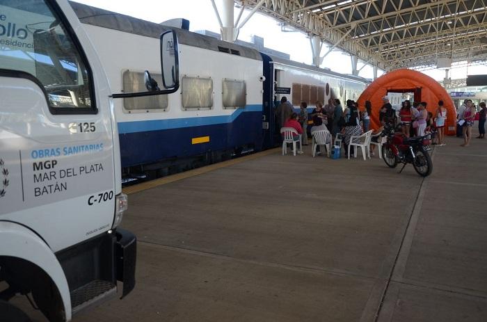 Este lunes llega el Tren Argentino 1 a Mar del Plata