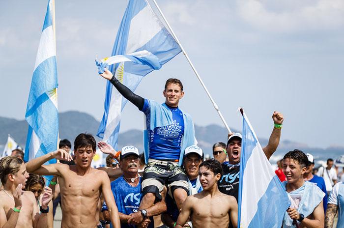 Surf: Muñiz y Usuna felicitaron a Gundesen por el título mundial
