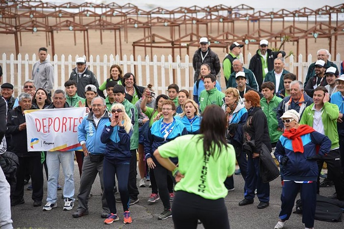 Ya se viven las finales de los Juegos Bonaerenses en la ciudad