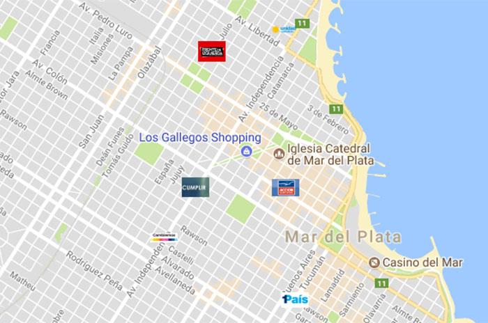 El refugio de la elección: el mapa de los búnkers de los candidatos