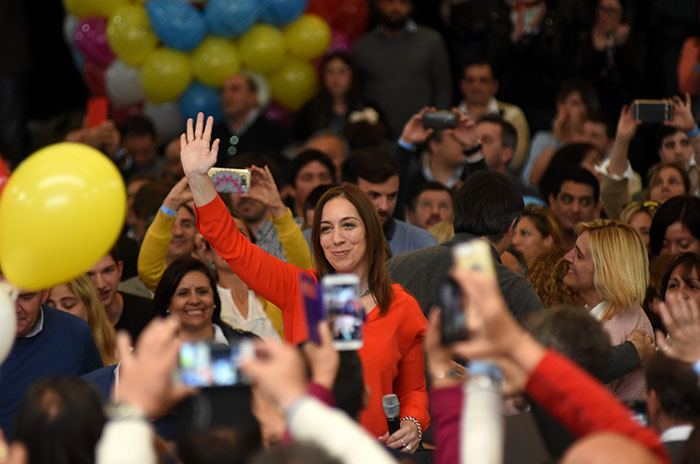 """Vidal, a la oposición: """"No subestimen a los bonaerenses"""""""