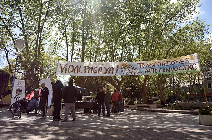 Posada del Inti: segundo día de acampe y huelga de hambre