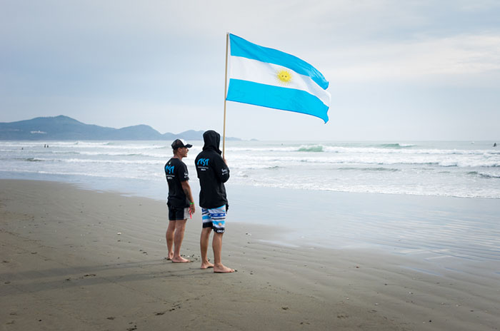 El equipo argentino de surf, a California para el Mundial Junior
