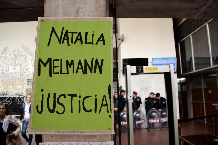 Los tres policías que mataron a Natalia Melmann seguirán presos