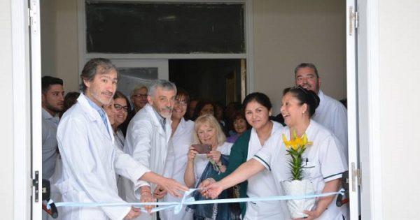 Obras en el HIGA: se inauguró el nuevo sector de Terapia Intermedia