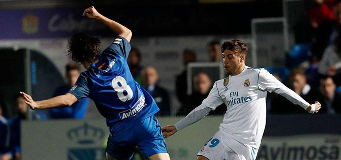 Feuillassier debutó oficialmente en el Real Madrid