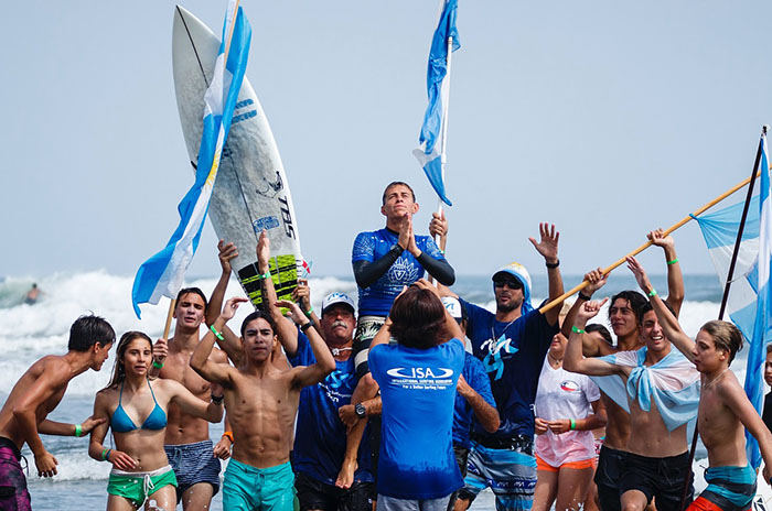 Surf: Ignacio Gundesen, otro marplatense campeón mundial