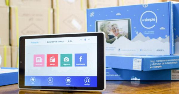 Tablets a jubilados: el 9 de noviembre empieza la entrega