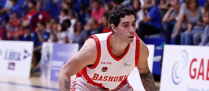 Vildoza debutó en el Baskonia