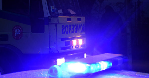 Gran incendio en depósito policial: explosiones y autos destruidos