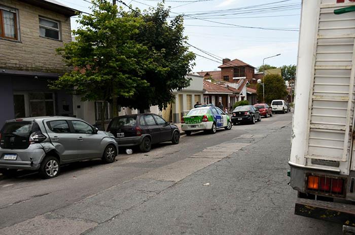 Choque múltiple en Peña y 14 de Julio: dos heridos