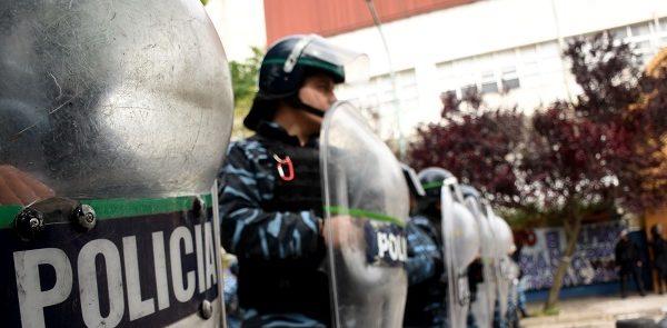 Violento desalojo en Desarrollo Social: no hubo orden judicial