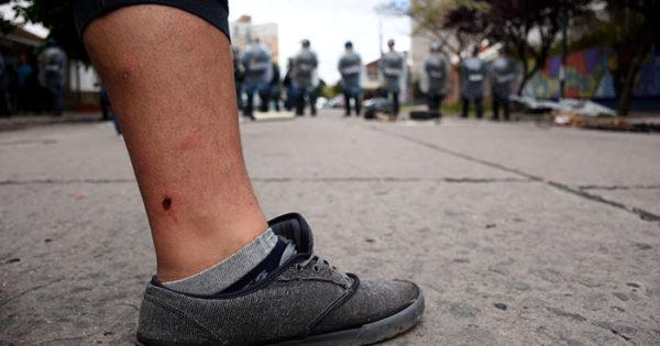 Desarrollo Social: fotos de una jornada de tensión y violencia