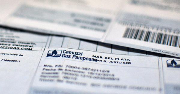 La factura de Camuzzi será mensual y con nuevo diseño
