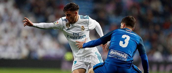 Feuillassier, primera vez de titular y en el Bernabéu
