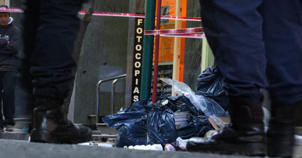 Cartoneros hallaron un cadáver descuartizado en bolsas de basura