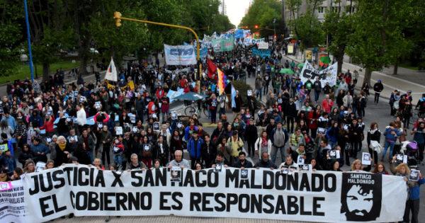Santiago Maldonado: tres meses después, la ciudad pidió justicia