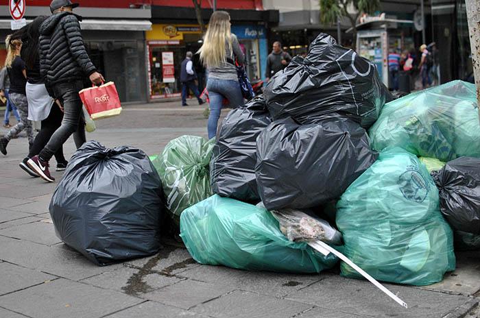 La ciudad, otra vez sin recolección de basura
