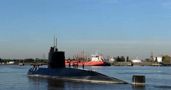 """Submarino: """"No hay mayores novedades de los contactos"""""""