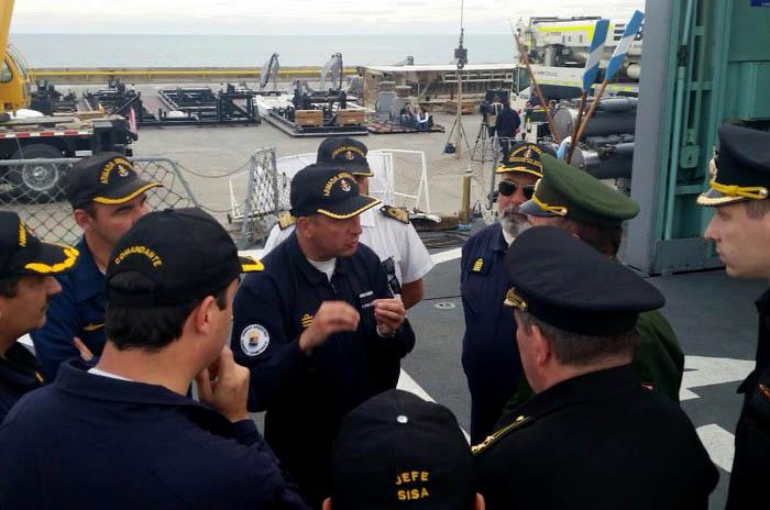 """Submarino: """"Es una situación crítica, angustiante, de tensión"""""""