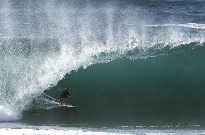 Lele Usuna dio su primer paso en Hawaii