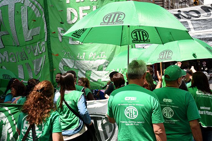 """Conflicto por las paritarias: ATE acusó a Vidal de """"mentir"""""""