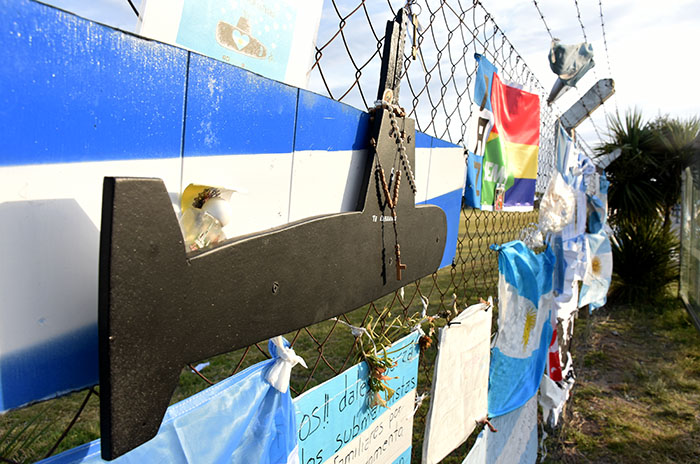 Submarino: marcha de los familiares y reclamo a Macri