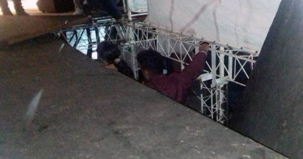 Se cayó el escenario de la Fiesta de la Empanada: tensión y heridos