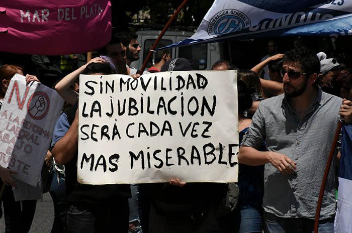 Reforma previsional: paro y protestas, también en Mar del Plata