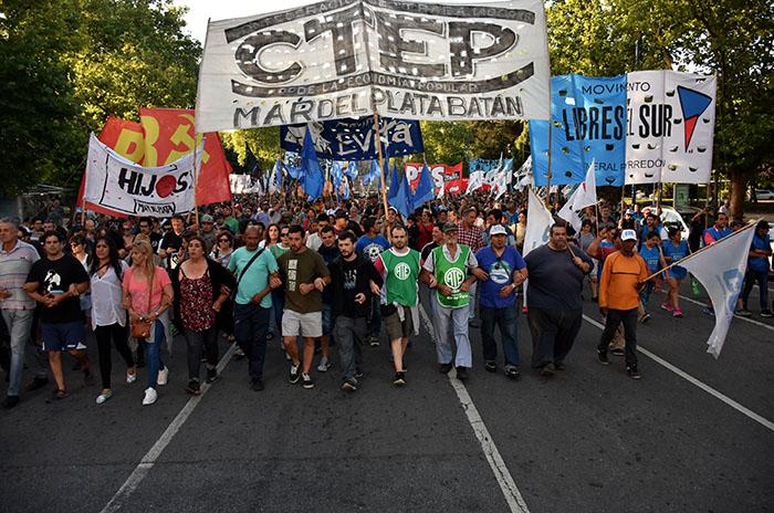 Reforma previsional: cortes, marchas y actos en Mar del Plata